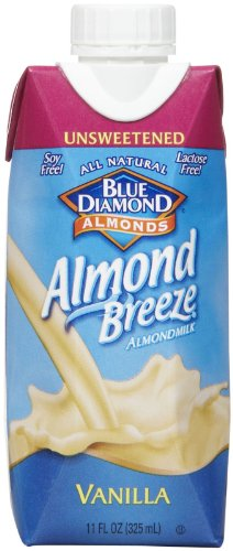 Blue Diamond Almond Breeze - Unsweetened Vanilla - 11 oz - 12 pk