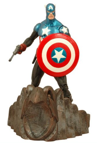 Marvel Select Captain America Action Figure - 1