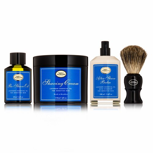 art of shaving the 4 elements of the perfect shave kit sandalwood male models picture. Black Bedroom Furniture Sets. Home Design Ideas