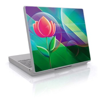 Rose Design Skin Decal Sticker Cover for Laptop Notebook Computer - 15