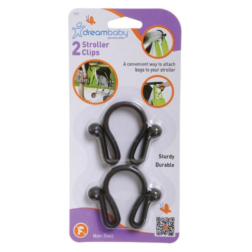 Dreambaby Stroller Clip - 2 Pack