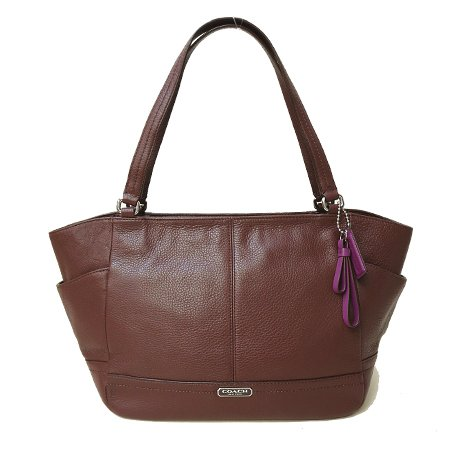 Coach   Coach Park Fig Leather Carrie Tote - Style 23284