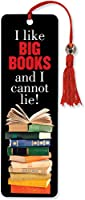 I Like Big Books Beaded Bookmark