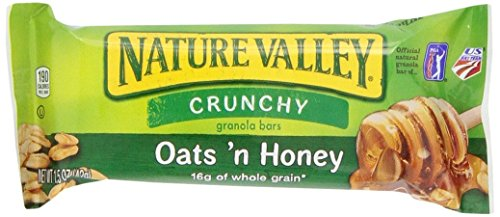 Nature's Valley Granola Bars, Crunchy Oats N Honey (100) (Nature Valley Oats And Honey compare prices)