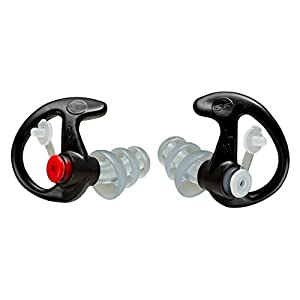 Ear Pro By Surefire 4 Sonic Defender Ear Plugs, Black