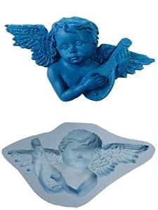 OK- Molds silicone angel cake decorating fondant gompaste supply M4906
