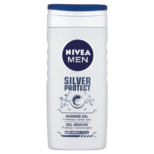 Nivea Men Silver Protect, Bagnoschiuma - 250 ml, 6 pz.