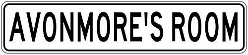 avonmores-room-kids-custom-boys-room-sign-heavy-duty-9x36-quality-aluminum-sign