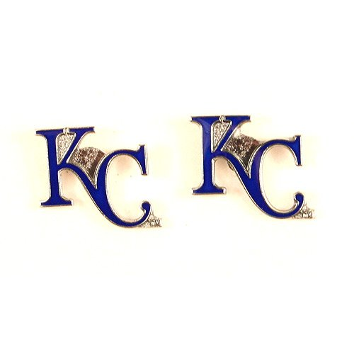 MLB Kansas City Royals Team Logo Hypoallergenic Stud Earrings at Amazon.com