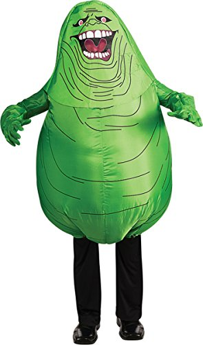 Adults Official Ghostbusters Inflatable Slimer from Ghostbusters 80s/Halloween Costume