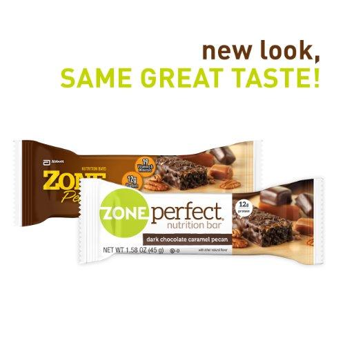 Zone perfect nutrition bar dark chocolate caramel pecan for Food bar t zone