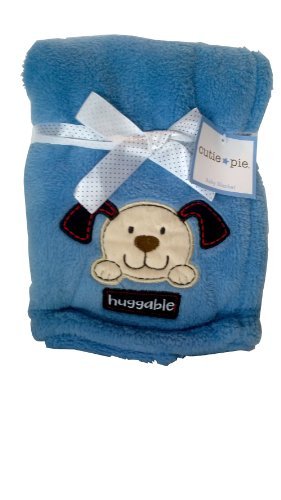 Cutie Pie Baby Blanket - Huggable Blue