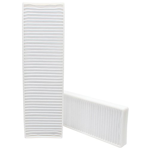 2-Pack Replacement Bissell 21K35 Vacuum Pleated Post Motor Filter - Compatible Bissell Style 7, 9, 16, 32076 HEPA Filter - Also compatible with 82H1, 52C2, 1398, 58F83, 71Y7, 18M9X, 61C5W, 3576-6, 52C2T, 52C2W, 3863, 6221, 3576-2, 3576, 58F8, 62X5 (Bissel Filters Style 7 compare prices)