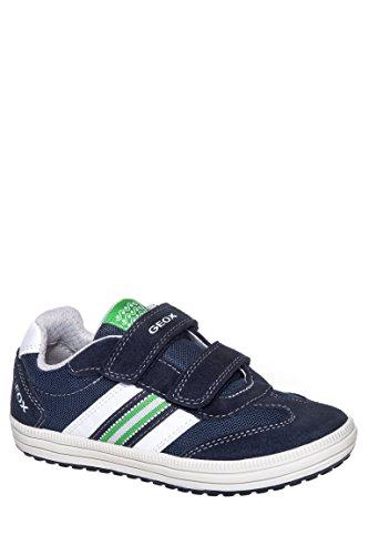 Boy's J Vita Hook And Loop Low Top Sneaker