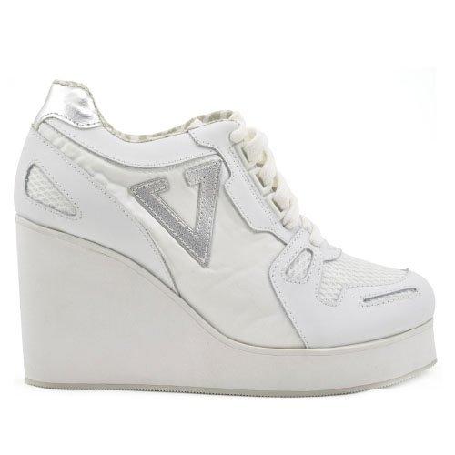 Volatile Kicks Women's Dip Sneaker,White,8 B US