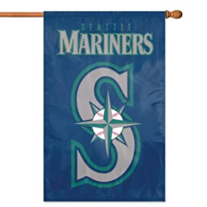Seattle Mariners Official MLB 44x28 Banner Flag by The Party Animal