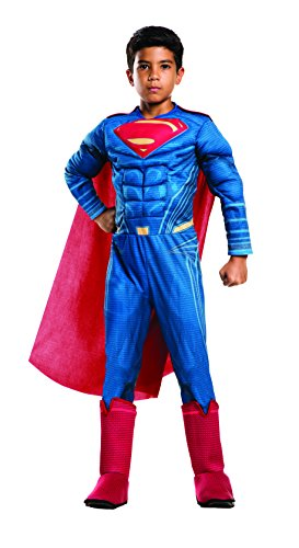 Rubie's Costume: Dawn of Justice Deluxe Muscle Chest Superman Costume, Medium