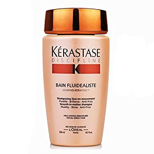 Kerastase Discipline Bain Fluidealiste Smooth-in-Motion Shampoo for Unisex, 8.5 Ounce
