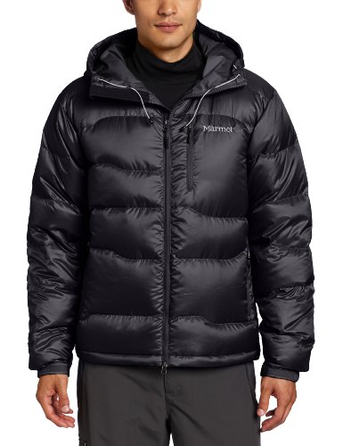 Marmot Men's Ama Dablam Down Filled Insulation Jacket - Black, Medium