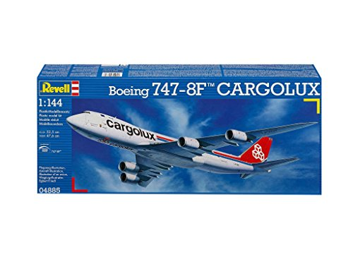 Revell-Modellbau-04885-Boeing-747-8F-Cargolux-im-Mastab-1144