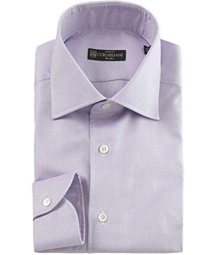 corneliani-chemise-slim-fit-a-texture-rose-uk16