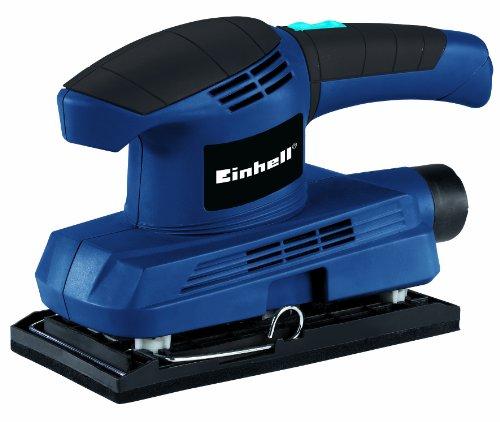 Einhell-Schwingschleifer-BT-OS-150-150-W-Schwingzahl-11500-min-1-Schleifflche-187-x-90-mm-Staubabsaugung-inkl-Schleifpapier