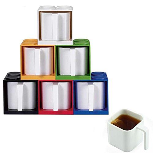 Creative Blocks Cup Set Melamine Brick Mug DIY Creative Combination Cups