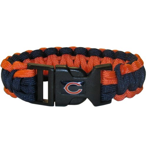 Chicago Bears Nfl Survival Paracord Bracelet Large Authentic Football Team