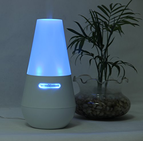 Signstek 100ML Blue Light Aroma Diffuser Ultrasonic Aromatherapy Diffuser Atomizer Purifier Air Humidifier