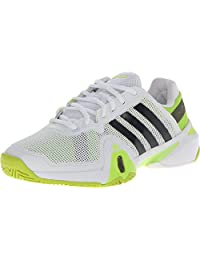 adidas Men's adipower? Barricade 8 Running White/Night Shade/Solar Slime Sneaker 14 D (M)