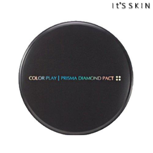 It's skinイッツ スキンプリズマダイアモンドパクトSPF25 PA++#21号ライトベージュ