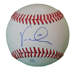 Vernon Wells Autographed Signed ROLB Baseball, New York Yankees, Los Angeles Angels... by Southwestconnection-Memorabilia
