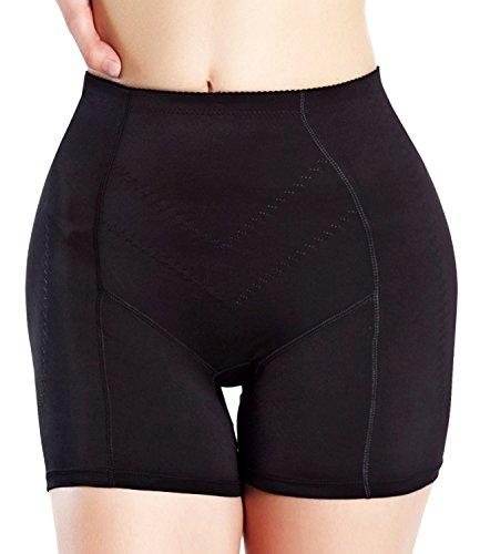 womens-shapewear-butt-lifter-padded-panty-body-shaper-boy-short-by-junlan-xl-black