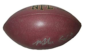 Mike Glennon Autographed Signed NFL Wilson Composite Football, Tampa Bay Buccaneers,... by Southwestconnection-Memorabilia
