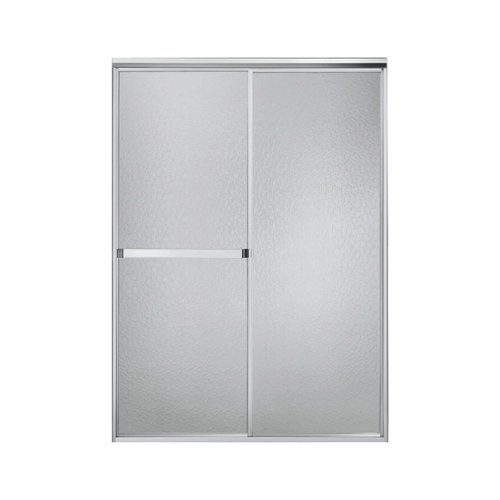 Sterling 660B/SP-46S Standard By-Pass Shower Door, Silver with Crystal Clear Glass (Sterling Shower Doors compare prices)