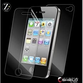 ZAGG Invisible SHIELD for iPhone4,iPhone4S �t���ی�t�B���� APLIPHONE4GLE