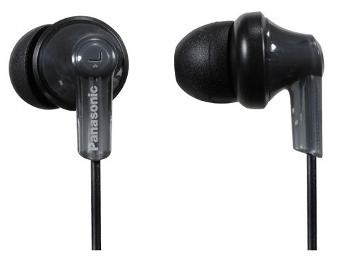 Panasonic RP-HJE120E1K In-Ear-Kopfhörer (3,5 mm Klinkenstecker) schwarz