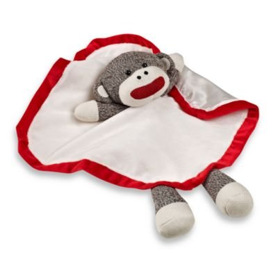 Baby Starters Sock Monkey Snuggle Buddy with Blanket (Baby Starters Lovey compare prices)