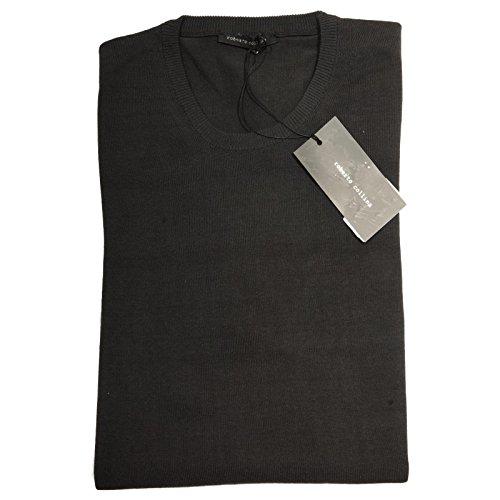 82784 maglione ROBERTO COLLINA grigio maglia uomo sweater men [50]