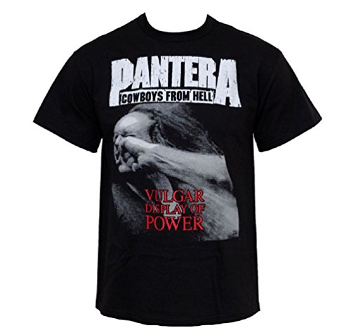 - Pantera Vulgar Display Of Power T-Shirt nero X-Large