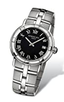 Raymond Weil Parsifal Anthracite Dial Stainless Steel Mens Watch 9541-ST-00208