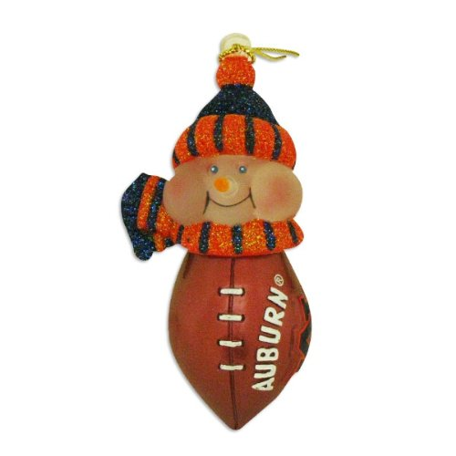 "Auburn Tigers 3"" All-Star Light-Up Snowman Ornament at Amazon.com"