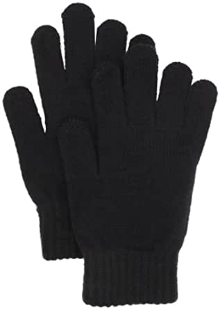 Touchpoint Women's Solid Touchpoint Glove, Black, One Size
