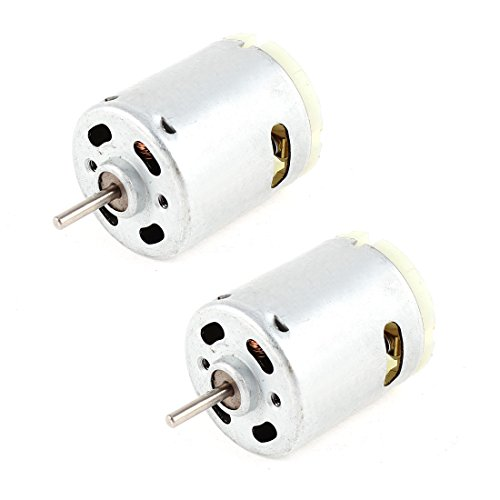 2 x DC 1.5-18V 30000RPM Micro Motor 32x28mm for RC Model Toys DIY