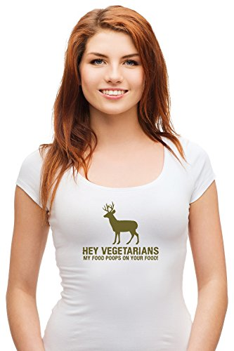 funny-food-deer-hey-vegetarians-my-food-poops-on-your-food-exclusive-quality-t-shirt-for-damen-lg-sh