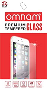Omnam Premium Tempered Glass Screen Protector for Micromax A110