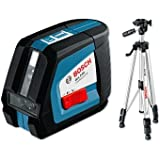 Cutting-Edge Bosch GLL 2-50 BS Cross Laser Line with BS 150 Tripod [Cleva Edition]