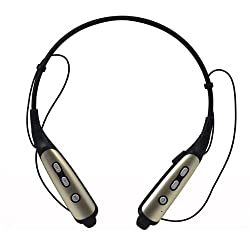 Mobilegear HBS-770 Wireless Bluetooth Headphone with Neckband Noise Reducing Sports Headset & Microphone