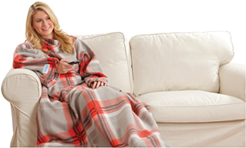 Best Review Of Snuggie Red Plaid Blanket