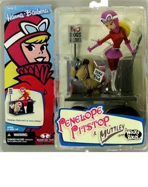 Penelope Pitstop - Hanna Barbera Action Figure Series 2 - McFarlane
